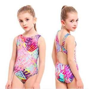 Baby cute one-piece swimsuit Children swimsuit girl triangle Bottom learn swimming training Beach one-piece