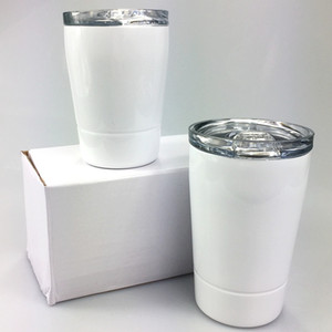 DIY Sublimation 8oz Tumblers Tumblers de aço inoxidável Crianças Cups Viagens Crianças Garrafa de Água Veículo Caneca Caneca De Café com tampas