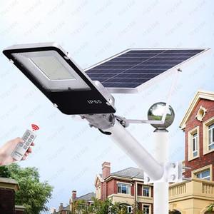 Garden light 20W 40W 70W 100W 200W LED Solar Street Light Outdoor Waterproof IP65 Smart light For Garden Yard Road Lamp Free shipping