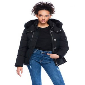 size XXL 3Q JACKET Hooded With real Fox Fur Collar Big scissors on the arm winter down coats