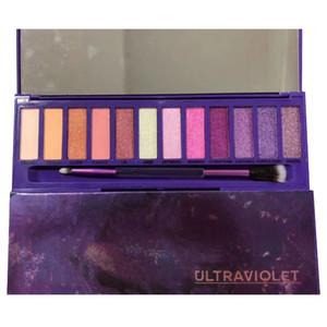 UltraViolet 12 colors eye shadow palette Shimmer Matte eye shadow Beauty Makeup 12 colors Eyeshadow Palette