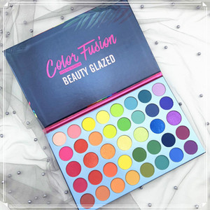 2019 New Beauty Glazed Eyeshadow Palette 39 Colors Eye Shadow Color Fusion Rainbow palette Matte Shimmer eyeshadow Face Highlighter