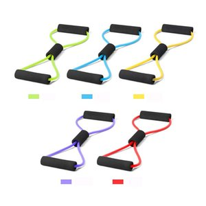 Gum TPE Peito aptidão borracha loop Látex Resistência Espanto Fitness Equipment estiramento Yoga Training Crossfit elástico