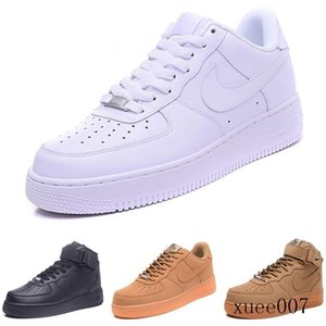 2020 fashion CORK dunk men's women 1 casual shoes high and low cut all white black brown Runing shoes size 36-46 BVVBD