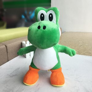 34cm Super Mario Bros Standing Yoshi Dragon Plush Dolls Toy Stuffed Soft Yoshi Peluche Doll Kids Gifts Free Shipping S200113
