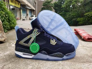 2020 Top quality 40-46 Hot Fashion New inJordan4 Retro Basketball Shoes Sneakers trainer running shoes