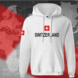 Designer Mens Pullover Hoodies Switzerland printed Sweater Loose Hoody Mens Hoodies Long Sleeve Autumn Winter Sweatershirt Hooded Streetwear