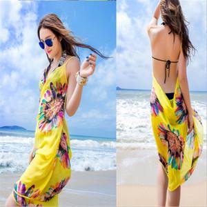 Sunscreen dress bikini bikini super large sunscreen beach scarf sling scarf fashion sunflowers beach skirt shawl