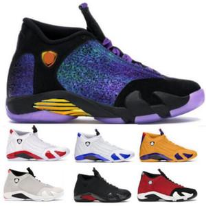 14 Erkek Basketbol Ayakkabı Sneakers Gym Kırmızı Kraliyet Son Shot Çöl Kumu Şeker Kamışı Thunder 14s Ucuz 2020 Yeni Geliş Sepet Ayakkabı Doernbecher