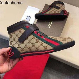 Caliente de la venta de los hombres ocasional de las mujeres de lujo para hombre rojos de fondo s zapatillas de deporte G bajo plano ocasional al aire libre Zapatos Zapatillas Conducción del hombre