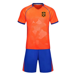 Espanha 2020 de futebol de formação terno short terno pode ser esportes dos homens terno treinamento que executam o desgaste sportswear escalada ocasional grupo desgaste