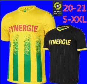 2020 2021 FC Nantes adult Soccer Jerseys home yellow shirt 20 21 FC Nantes Men's Sala Coulibaly Waris Rongier Boschilia Football Shirt