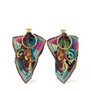 천 드롭 귀걸이 및 금속 스터드 귀걸이 여성 결혼 보석 선물 무료 배송 PS5730에 대한