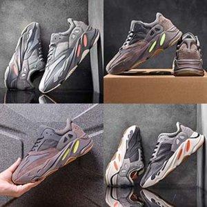 MudiPanda 2020 Crianças Esportes de Inverno de Kanye West 700 Kanye West 700 Shoes Meninos respirável Correndo Sneakers crianças fora Viajando Leathe # 219