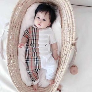 B Short Sleeves Jumpsuits Infant Toddler Boys Girls cotton Bodysuits outfits Special Products