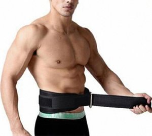 GloryStar Belt Wide Double Weightlifting Gym Belt Training Bodybuilding Exercise Fitness Dip Black 70~84cm c0Sw#