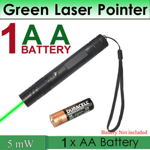Astronomy Visible Beam High Power 5mW Green Laser Pointer Tactical Pen Lazer Pointer High Quality Laser AA Battery Pet Toy & Gift