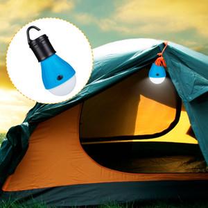 LED Camping Tente Lumière Mini portable Lampe de secours Lampes suspendues étanche avec crochet extérieur lampe torche Utiliser 3 * Ampoule Lantern AAA