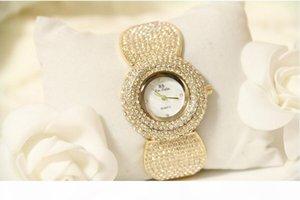 D Elegant Women Rhinestone Watch Fashion Steel Ladies Watch Vintage Women Dres Quartz Clastic Luxury Ceramic Diamond Watch
