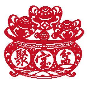 vente en gros kits sur mesure comptés croix sstitch imprimés sur toile dmc 14ct 11ct broderie main couture ensembles artisanat en décoration de la maison