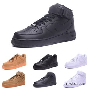fly high quality Classical men women Unisex low Casual shoes mens womens one 1 White star platform Sandals shoes GS7DL