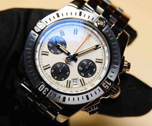 Breitling mens nuevos diseñador de relojes piloto Chronomat B01 cronógrafo de 42 mm de la moda sinuoso movimiento mecánico ABO hombres de acero inoxidable relojes lT2n #