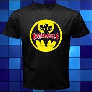 2XL 3XL M L XL Yeni Batmobile Psychobilly Tişört Boyut S Rock Band Siyah