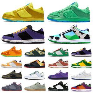 Mode dunk baskets dunk sb ours bas reconnaissantes Chunky planche à roulettes authentique ACG hommes Terra femmes formatrices chaussures de basket-ball
