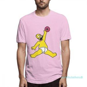 Yaz Simpsons Moda Tasarımcısı Gömlek Kadın Gömlek Erkek Kısa Kollu Gömlek Simpsons Baskılı T Gömlek Nedensel c3208s08 başında