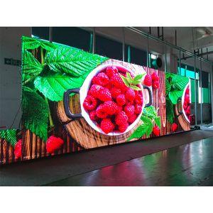 6pcs Platten im Freien LED p3.91 500x500mm Aluminium-Druckguss führten Schränke LED-Display im Freien farbenreichen Videoanzeige