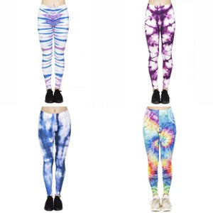 New Mulheres Yoga Pants Christmas Gift Papai Noel Imprimir Leggings Esporte rápida secagem Pant Correndo # 477