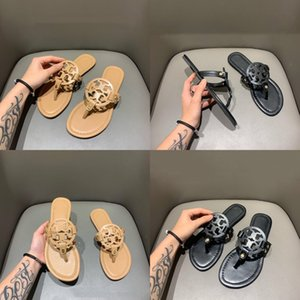 Factory Direct Sales Women'S Shoes 2020 Summer New Square Head Set Toes Cool Slippers Women'S Outwear Flat-Soled Slippers Women#103