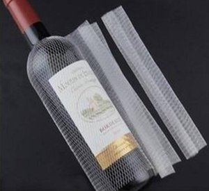 plastic PE red wine bottle protective net bottle socks bottle sleeve net white in stock