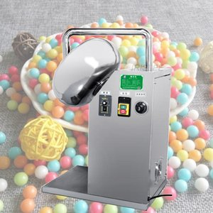 Hot vente de haute qualité en acier inoxydable automatique Pill noix amandes sucre Popcorn bonbons chocolat revêtement machine Pan