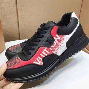 Drop Ship Run Away Sneaker Mens Shoes Calzado Deportivo Para Hombre Casual Outdoor Walking Shoes Plus Size Luxury Low Top Lace -Up Shoes
