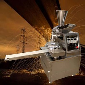 Высокая эффективность / высокое качество / нержавеющая сталь.Производственная последняя Фаршированная-булочка делая машину Кухонный комбайн с начинкой булочка машина 220V / 110V