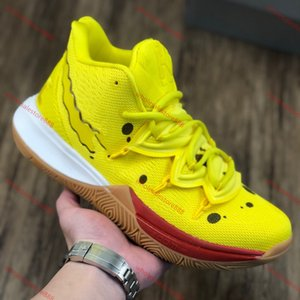 xshfbcl New Arrival progettista Star Kyrie 5 Yellow Practical Basketball Shoes Mens Outdoor Sports Trainers Sneakers Top Quality Runner Shoe