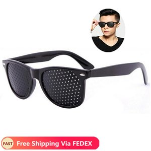 Cycling Eyewear Pin Hole Sunglass Eye Training Glass Pinhole Glasses Camping Unisex Eyeglasses Exercise Outdoor Improve Eyesight