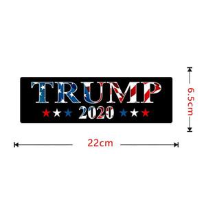 Trump 2020 Autos Aufkleber US-Präsidentschaftswahl Autoaufkleber Kreative Universal-Qualitäts mit schwarzer Farbe 2 3JW J1