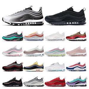 nike air max 97 En gros Chaussures De Course Court Pourpre South Beach Barely Rose Triple Blanc Noir Avoir un jour Hommes Femmes Formateur Sports Sneaker Taille 36-46