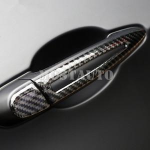 For BMW X5 E70 X6 E71 Carbon Fiber Exterior Car Door Handle Trim Cover 2008-2014 8pcs