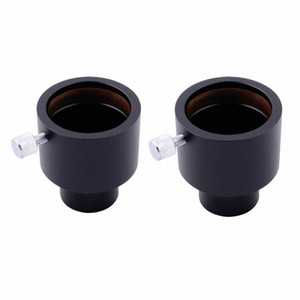 """2pcs LAIDA 23,2 mm à 1,25"""" 1,25 pouces Adaptateur Adaptateur pour montage oculaire microscope au télescope M0036EX2 2NiF #"""