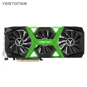 Yeston GeForce GTX1660 Super-6G GDDR6 cartes graphiques Nvidia PCI Express x16 3.0 Ordinateur de bureau PC vidéo carte graphique de jeu