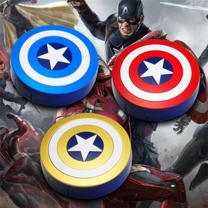 PXfPs New Captain America case Invisible Enfermagem óculos estrela de cinco pontas escudo invisível caixa companheiro Óculos lente de contato de moda