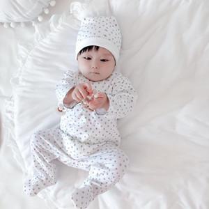 Bébé garçon filles vêtements printemps automne nouveau-né enfants romper combinaisons avec chapeau coton vêtements bébé manches à manches longues bébé paillettes Combinaison
