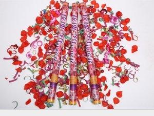 2020 venta caliente festiva de fiesta de fuegos artificiales de la boda atmósfera accesorios especiales de rosa de fuegos artificiales de conserjería de 80 cm Rose 006 de fuegos artificiales