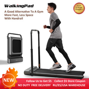 EU USA STOCK WalkingPad R1Pro Truly Foldable Treadmill Speed 0.5-10Km H Running Walking 2in1 Weight Capacity 110KG For Home Xiaomi Ecosystem