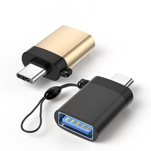 Digite C OTG adaptador macho para USB 3.0 Feminino Converter Adapter transmissão rápida com cordão