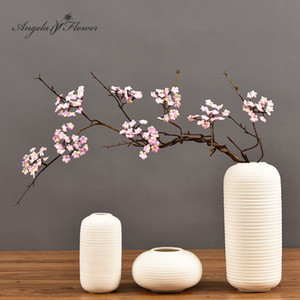 87cm Artificial cherry blossom cane branch dried flower plants vine decor house home garden table Christmas tree wedding party