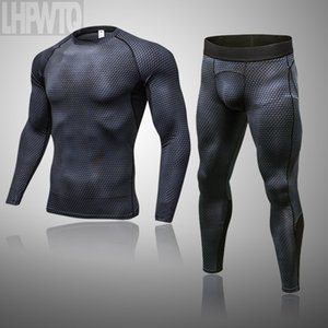 Men Sportswear Compression Sport Suits Running Sets Clothes Sports Thermal Underwear Training Gym Fitness Running Kits